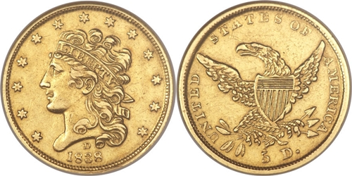 Classic Head Gold Coin EF45 Grading Image