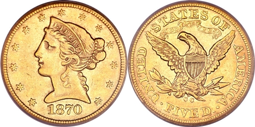 Liberty Head Gold Coin EF45 Grading Image