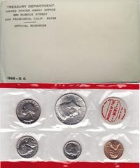 1968 Mint Set 40% Silver Kennedy Image