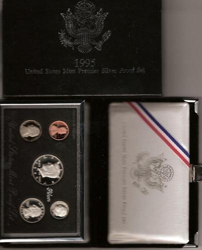 1995-S 90% Silver Proof Set Image