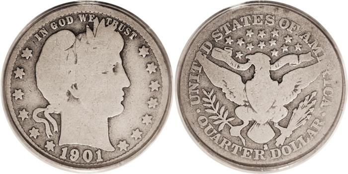 G4 Good Grade Barber Quarter Image