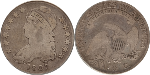G4 Capped Bust Half Dollar Image