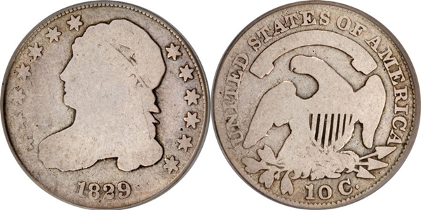 G4 Grade Capped Bust Dime Image