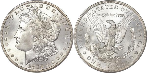 Authentic Morgan Dollar Image