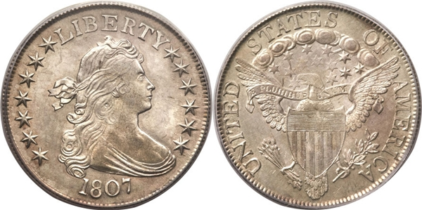 MS63 Draped Bust Half Dollar Image