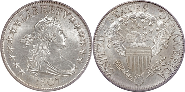 MS64 Draped Bust Half Dollar Image