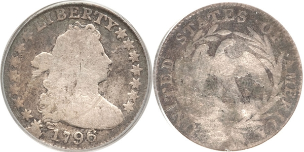 G4 Grade Draped Bust Dime Image
