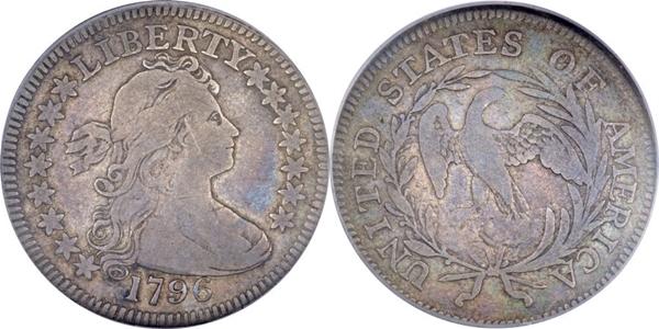 F12 Grade Draped Bust Quarter Image