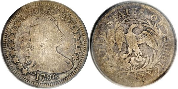 G4 Grade Draped Bust Quarter Image