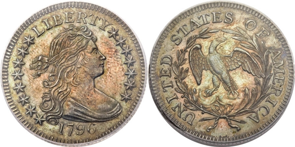 MS63 Grade Draped Bust Quarter Image