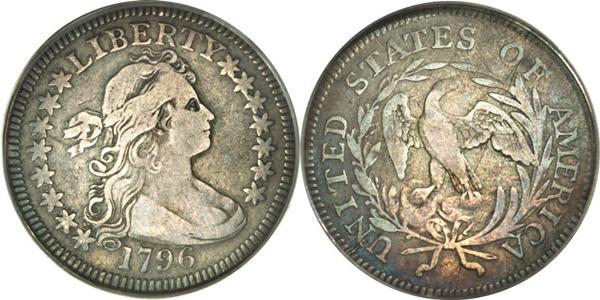 VF25 Grade Draped Bust Quarter Image