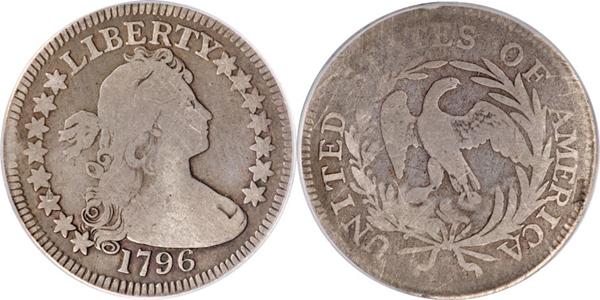 VG8 Grade Draped Bust Quarter Image