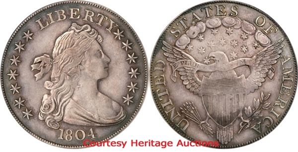 Fake Counterfeit Draped Bust Silver Dollar Images Facts