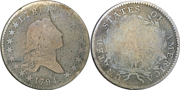 AG3 Flowing Hair Half Dollar Image