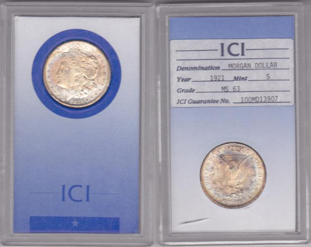 ICI Coin Grading Service Holder