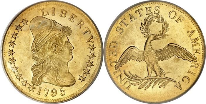 Most valuable $5 Capped Bust gold coin values