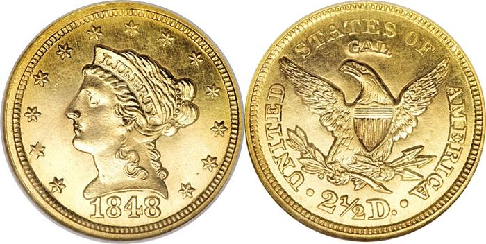 Most valuable Liberty Head $2.50 gold coin values