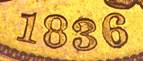 1836 Classic Head Gold Block 8 Variety Image