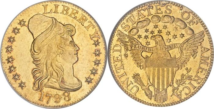 Most valuable Capped Head $5 Gold coin values
