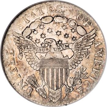 1804 Herladic Eagle Shield Draped Bust Dime Image