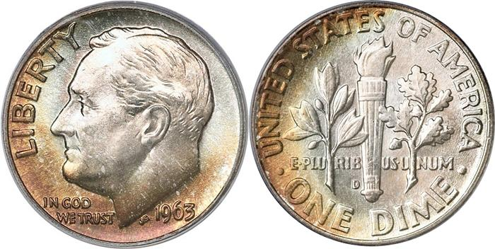Most valuable Roosevelt Dime values