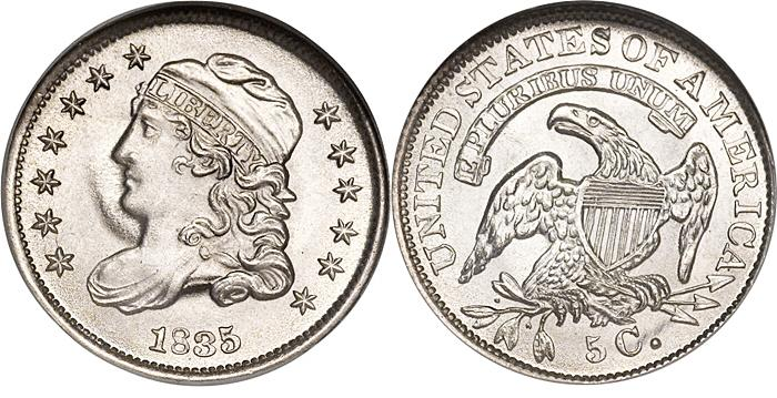 Most valuable Classic Head Half Dime values