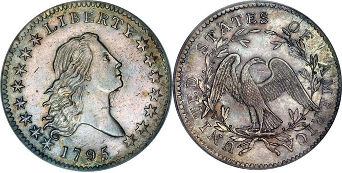 Most valuable Flowing Hair Half Dollar values