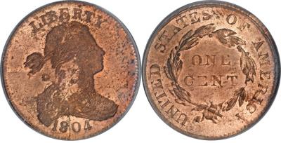 1804 Large Cent Restrike Image