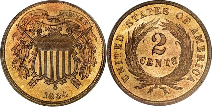 The Most Valuable Shield Two Cent Values