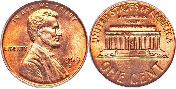 The most valuable Lincoln Memorial Cent values