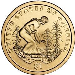 2009 Sacagawea Dollar Reverse