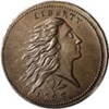 1793 Flowing hair half cent grading