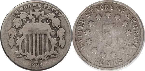 G4 Grade Shield Nickel Image